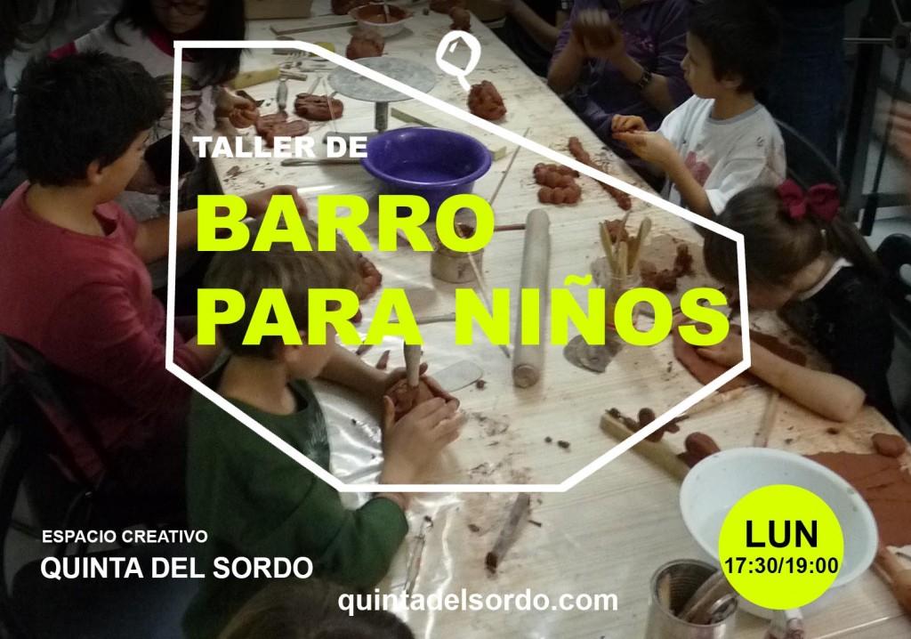 Taller_de_barro_para_niños_Quinta_del_sordo_2015_Flyer