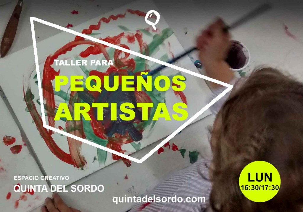 Taller_para_pequeños_artistas_Quinta_del_sordo_2015_flyer